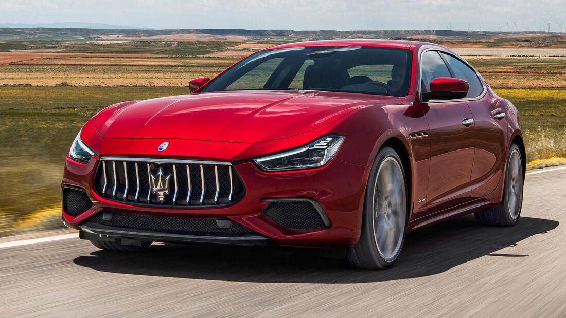 sport auto Award 2021, Maserati Ghibli, Serie, Limousinen und Kombis bis 100.000 Euro