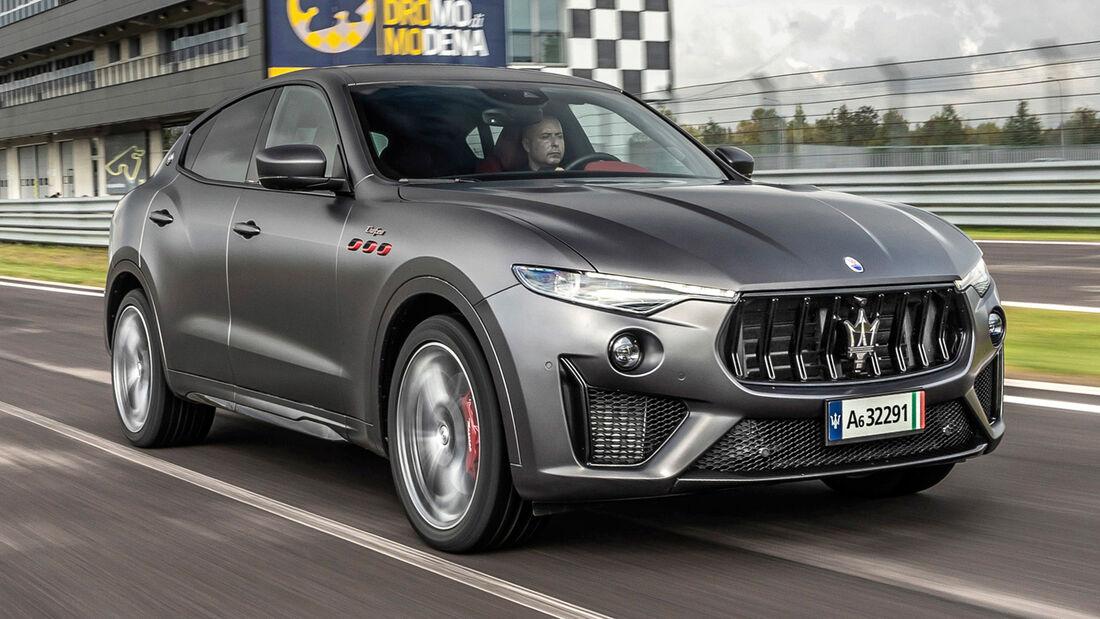 sport auto Award 2021, Maserati Levante Trofeo Q4, Serie, SUV