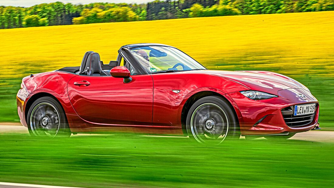 sport auto Award 2021, Mazda MX-5 G 2.0, Serie, Cabrios und Roadster bis 75.000 Euro