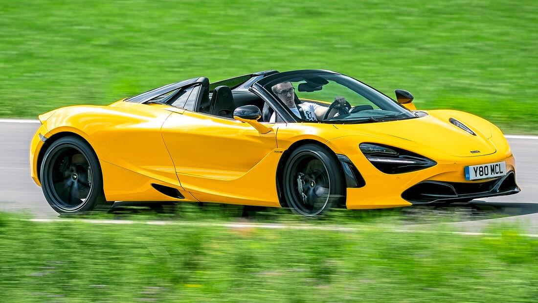 sport auto Award 2021, McLaren 720S Spider, Serie, Cabrios und Roadster über 150.000 Euro