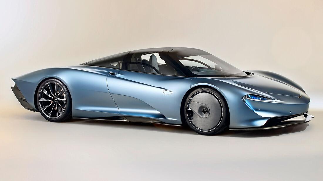 sport auto Award 2021, McLaren Speedtail, Serie, Supersportler