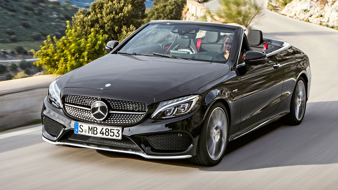 sport auto Award 2021, Mercedes-AMG C 43 Cabrio, Serie, Cabrios und Roadster bis 75.000 Euro