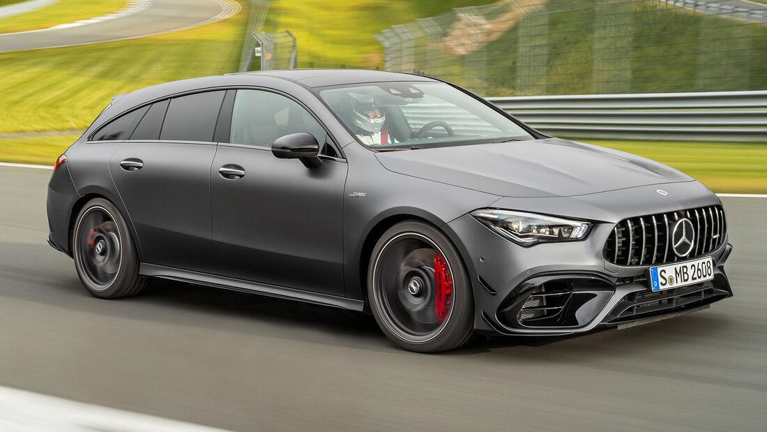 sport auto Award 2021, Mercedes-AMG CLA 45 S SB, Serie, Limousinen und Kombis bis 75.000 Euro