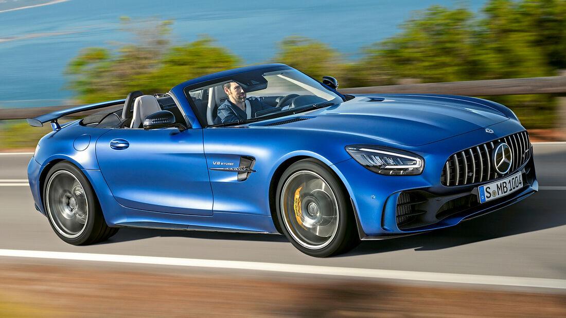 sport auto Award 2021, Mercedes-AMG GT C Roadster, Serie, Cabrios und Roadster über 150.000 Euro