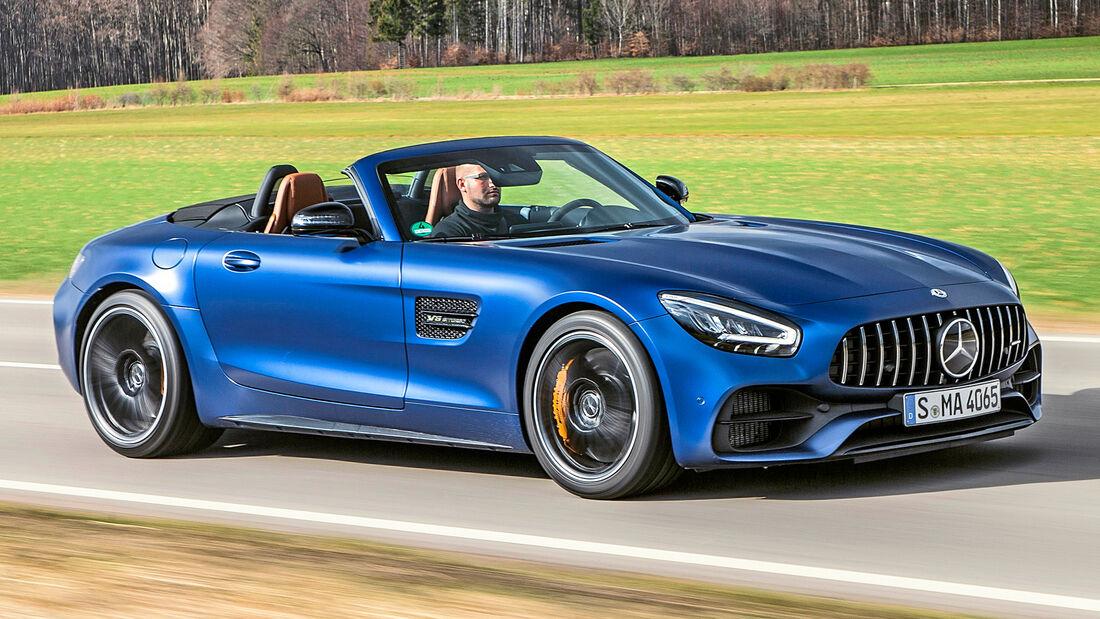 sport auto Award 2021, Mercedes-AMG GT Roadster, Serie, Cabrios und Roadster bis 150.000 Euro