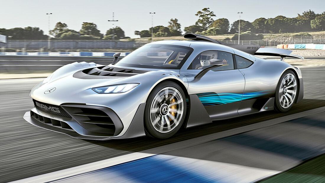 sport auto Award 2021, Mercedes-AMG One, Serie, Supersportler