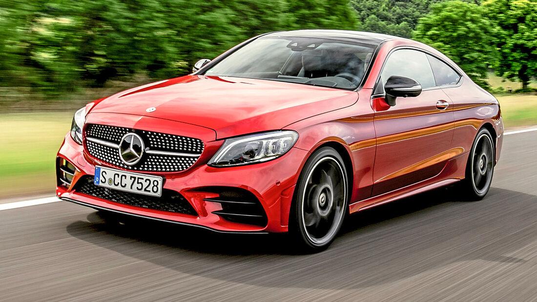 sport auto Award 2021, Mercedes C 300 Coupé, Serie, Coupés bis 50.000 Euro