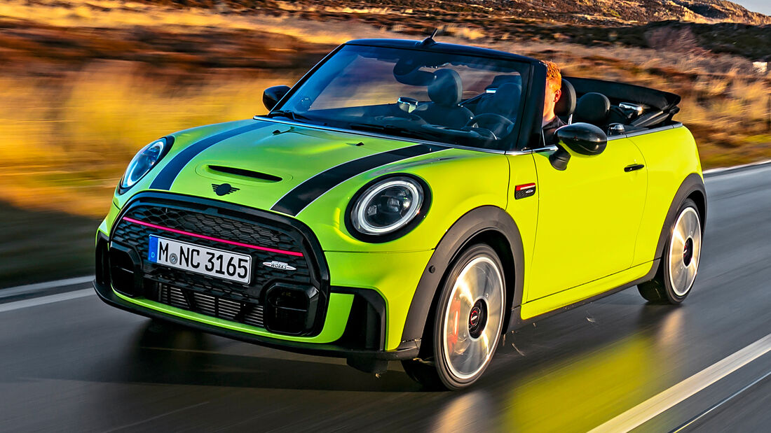 sport auto Award 2021, Mini John Cooper Works Cabrio, Serie, Cabrios und Roadster bis 75.000 Euro