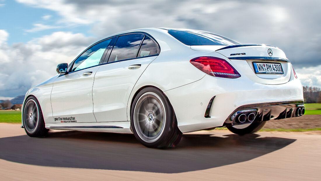 sport auto Award 2021, Performmaster-Mercedes-AMG C 43 S, Tuning, Limousinen und Kombis bis 100.000 Euro