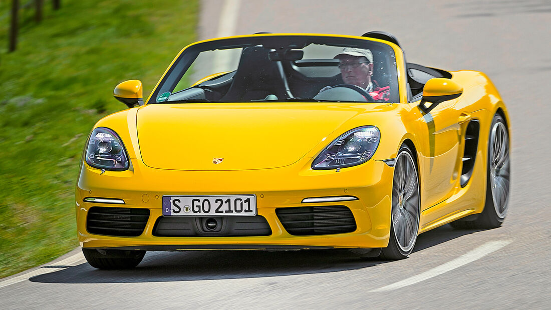 sport auto Award 2021, Porsche 718 Boxter S, Serie, Cabrios und Roadster bis 75.000 Euro