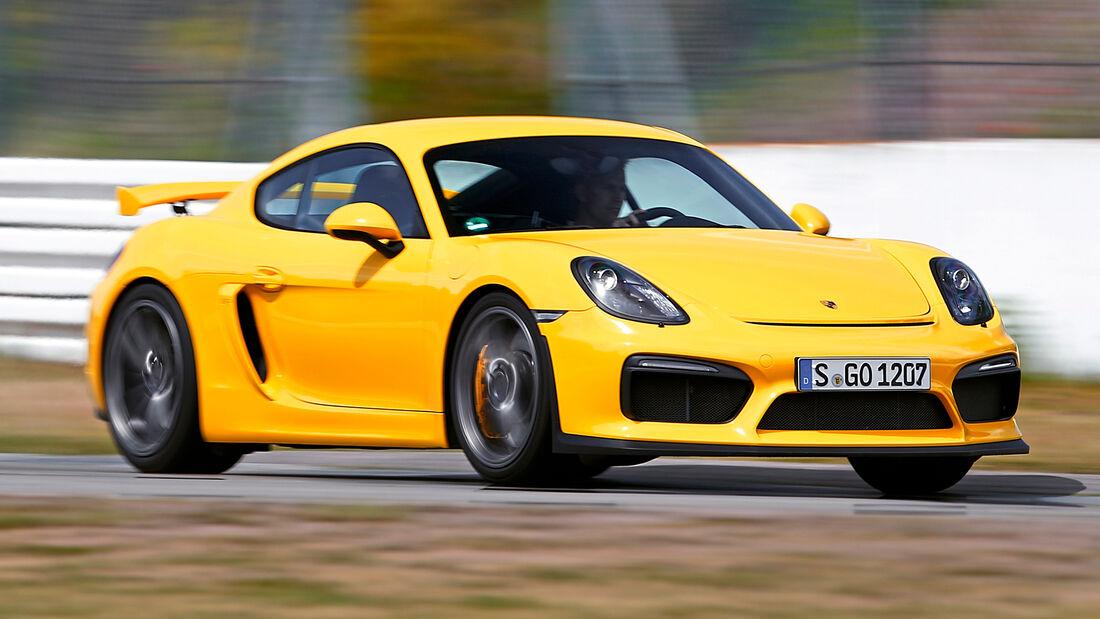 sport auto Award 2021, Porsche 718 Cayman GT4, Serie, Coupés bis 100.000 Euro
