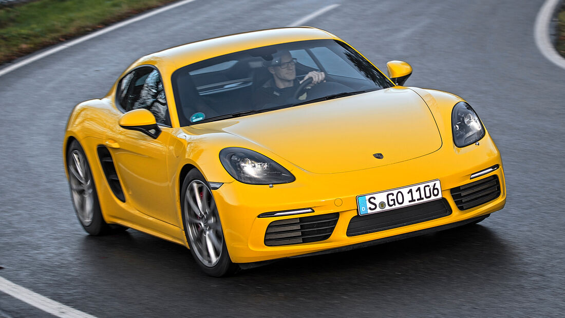sport auto Award 2021, Porsche 718 Cayman S, Serie, Coupés bis 75.000 Euro