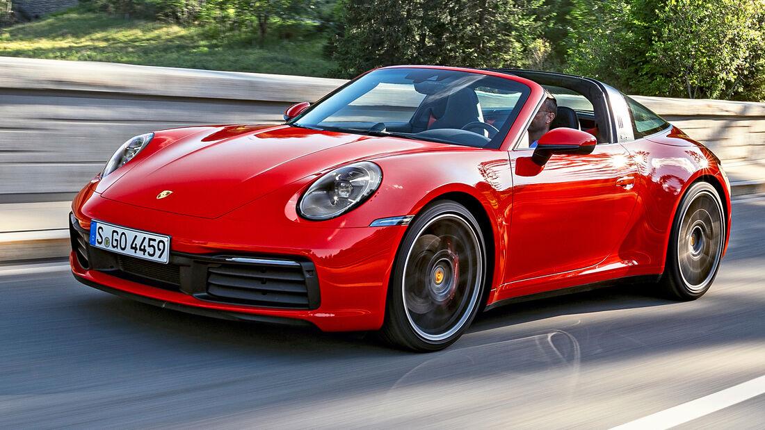 sport auto Award 2021, Porsche 911 Targa 4S, Serie, Cabrios und Roadster bis 150.000 Euro