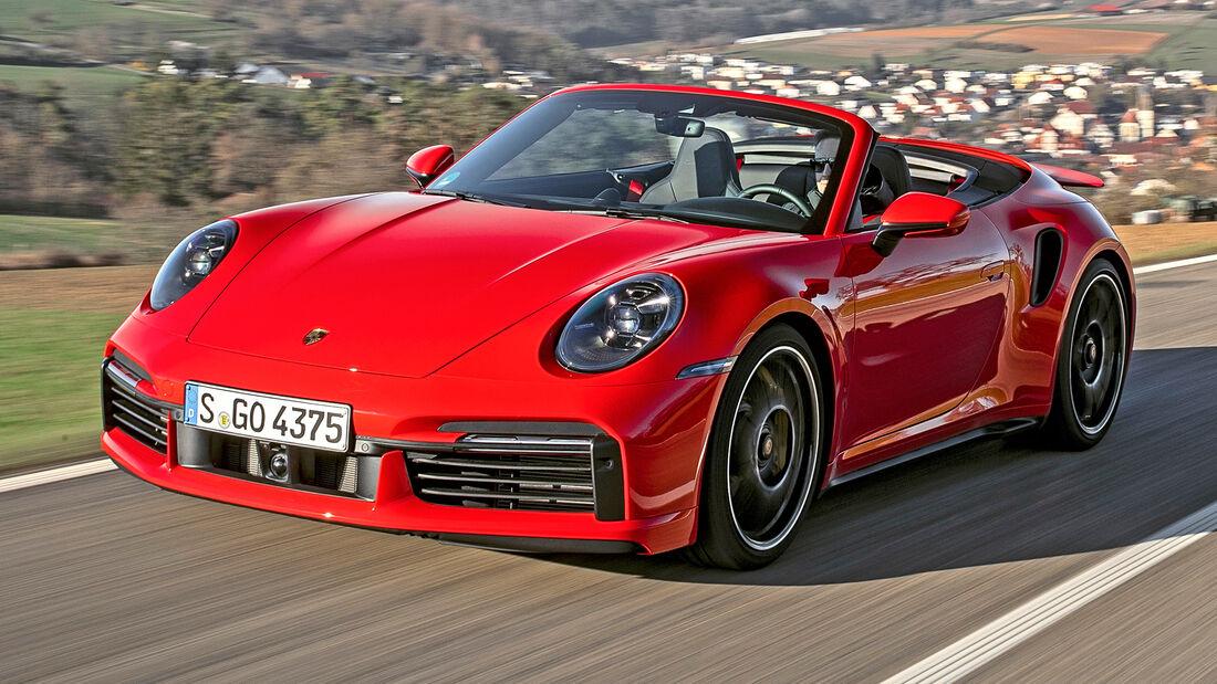 sport auto Award 2021, Porsche 911 Turbo S Cabriolet, Serie, Cabrios und Roadster über 150.000 Euro