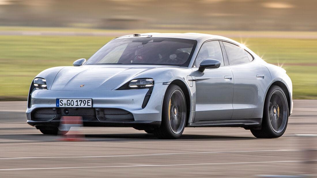 sport auto Award 2021, Porsche Taycan Turbo S, Serie, Elektro-Autos