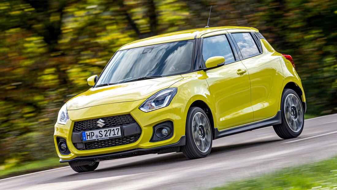 sport auto Award 2021, Suzuki Swift Sport, Serie, Kleinwagen