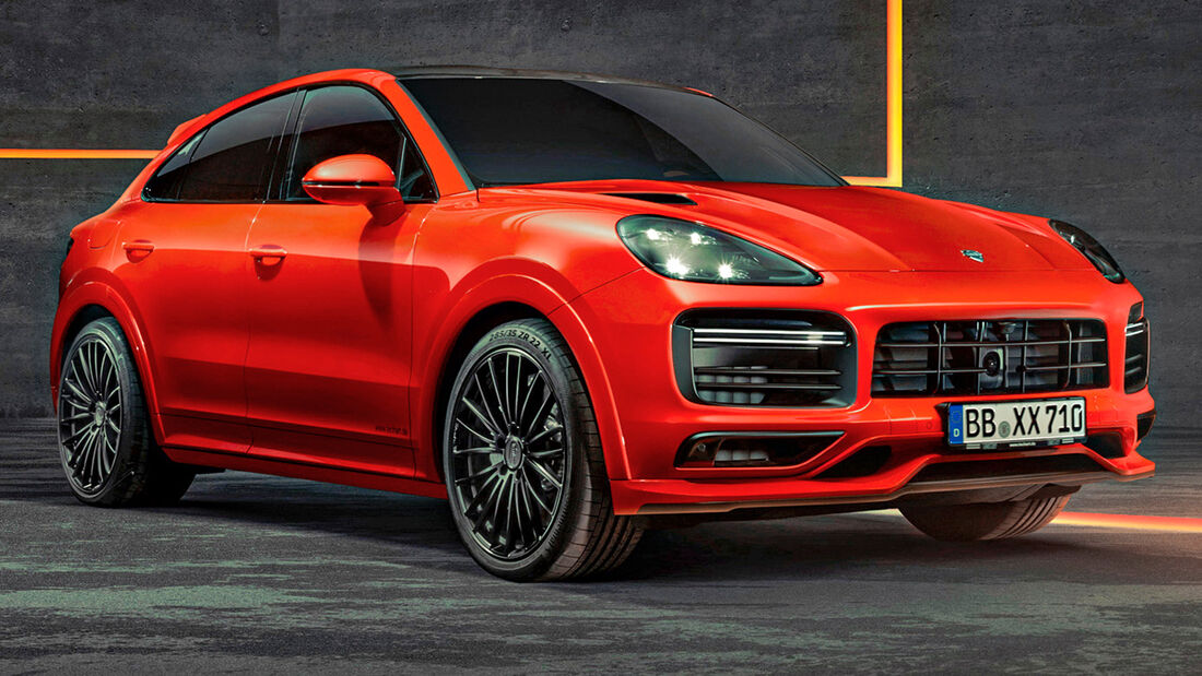 sport auto Award 2021, Techart Cayenne Turbo Coupé, Tuning, SUV