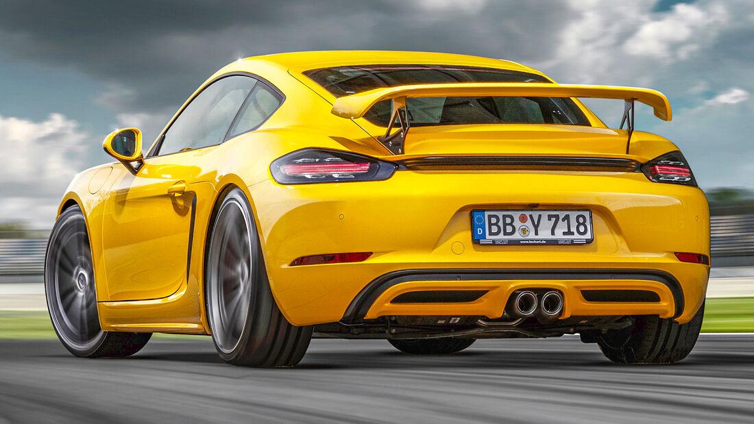 sport auto Award 2021, Techart-Porsche 718 Cayman GTS, Tuning, Coupés bis 100.000 Euro