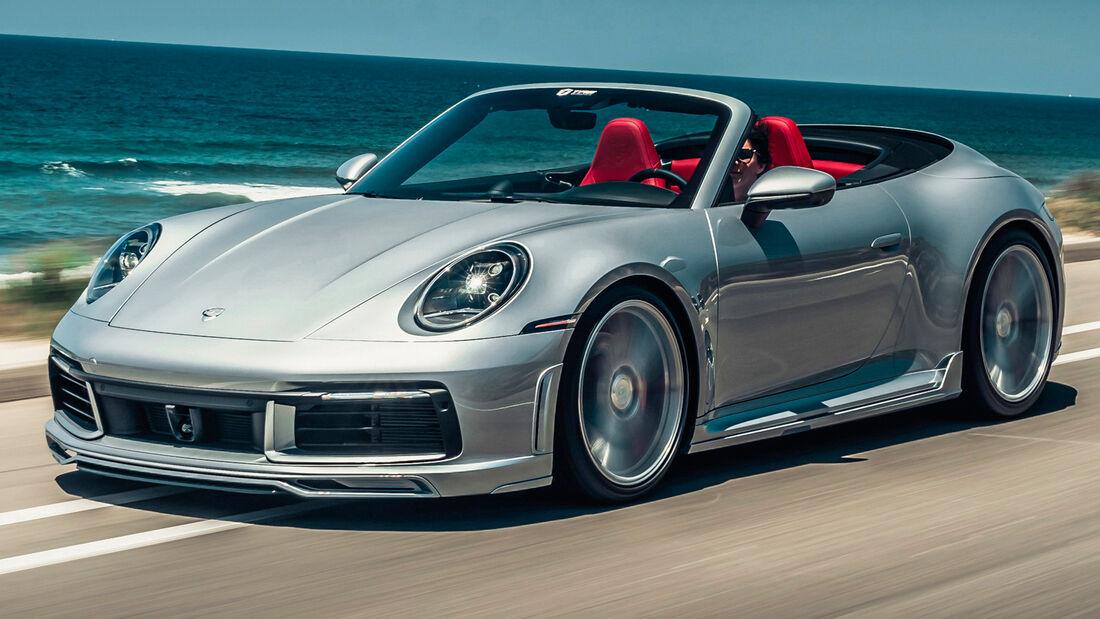 sport auto Award 2021, Techart-Porsche 911 Carrera S Cabrio, Tuning, Cabrios und Roadster über 100.000 Euro