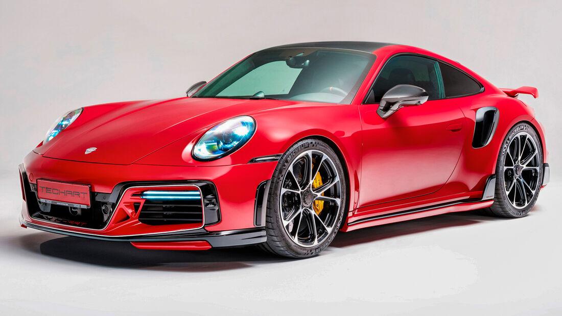 sport auto Award 2021, Techart-Porsche 911 Turbo S, Tuning, Coupés über 100.000 Euro