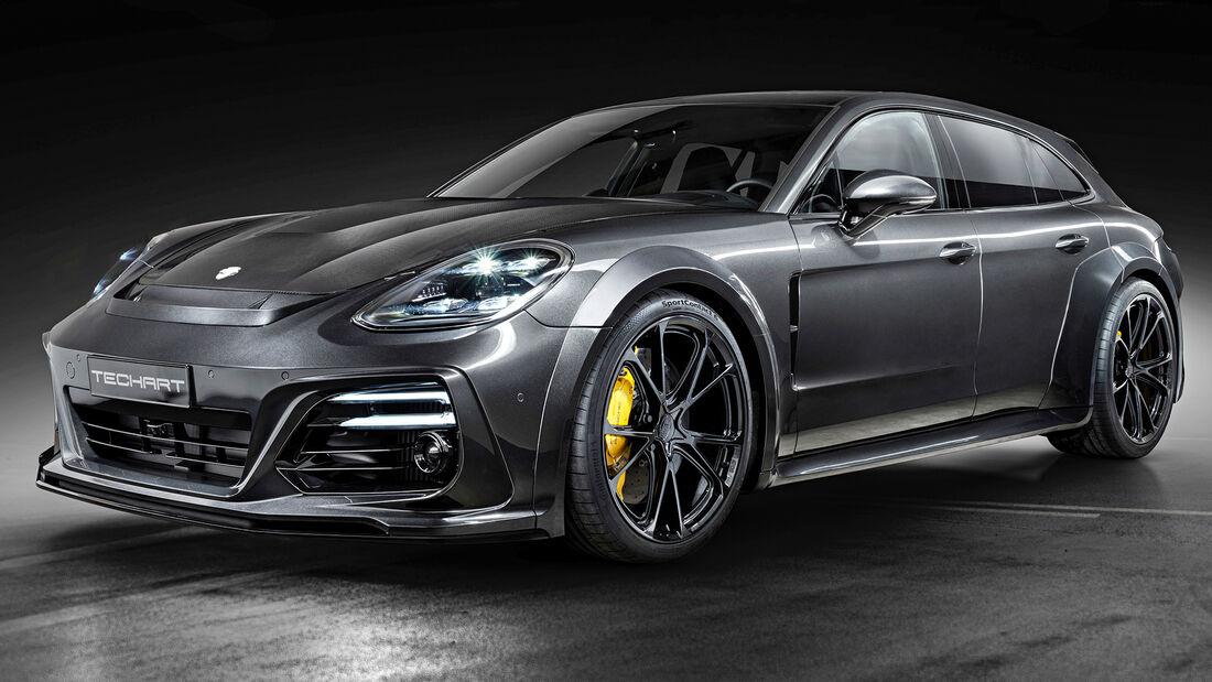 sport auto Award 2021, Techart-Porsche Grand GT, Tuning, Limousinen und Kombis über 100.000 Euro
