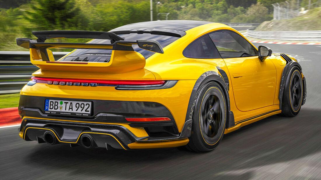 sport auto Award 2021, Techart-Porsche Gtstreet R, Tuning, Supersportler
