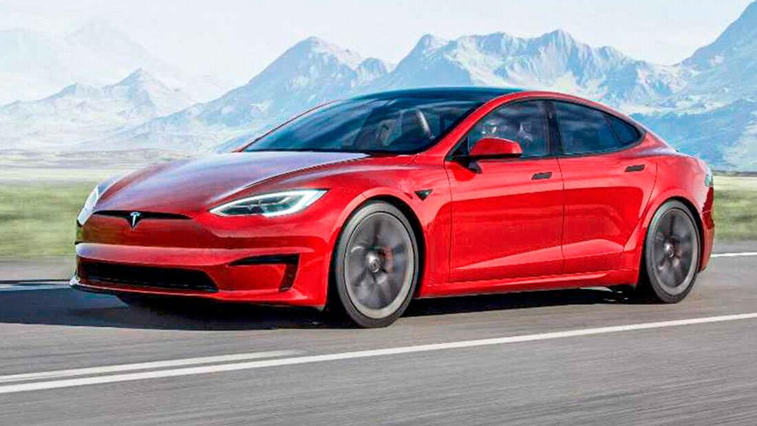 sport auto Award 2021, Tesla Model S Plaid+, Serie, Elektro-Autos