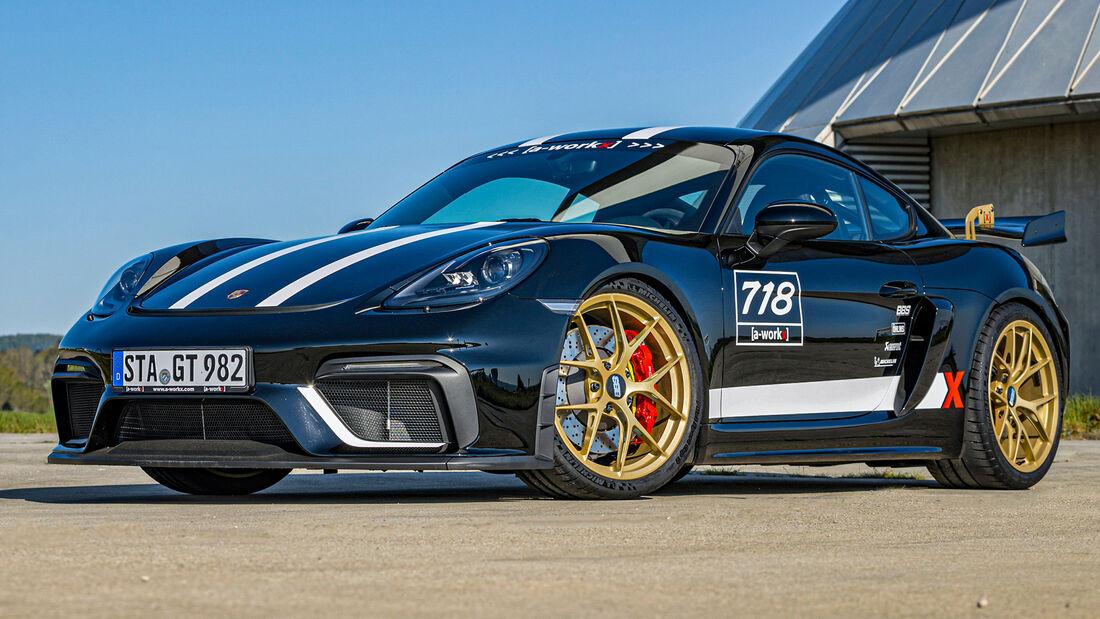 sport auto Award 2021, a-workx-Porsche 718 Cayman GT4, Tuning, Coupés über 100.000 Euro