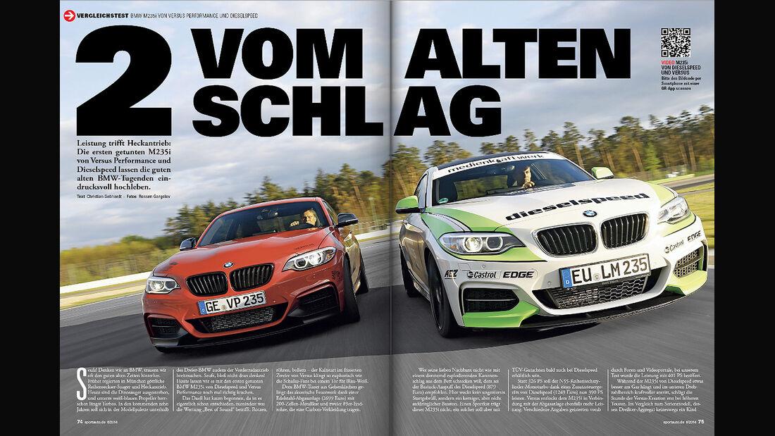sport auto, BMW M235i, Tuning