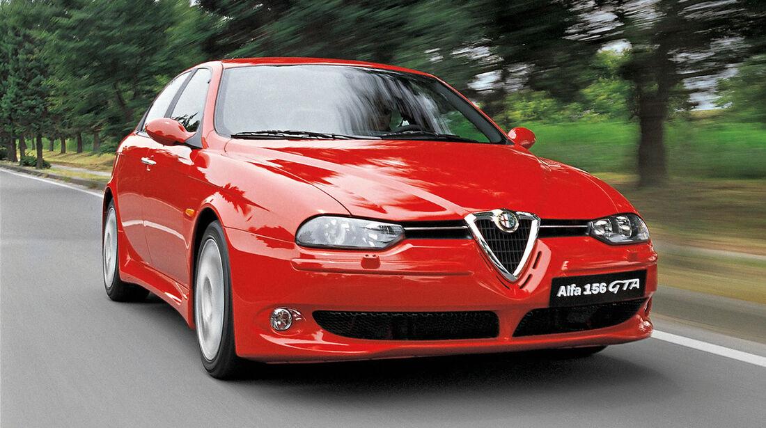 sport auto-Exotendeals bis 15.000 Euro, Gebrauchtwagen-Spezial, 04/2016, Alfa Romeo 156 GTA