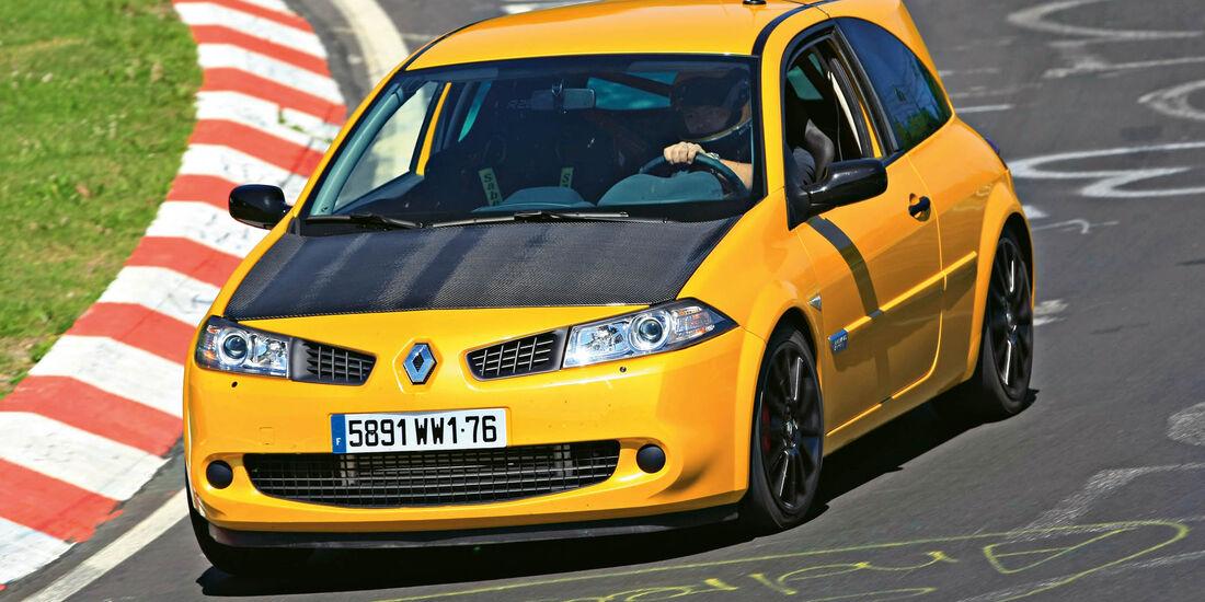 sport auto-Exotendeals bis 30.000 Euro, Gebrauchtwagen-Spezial, 04/2016, Renault Mégane R26.R