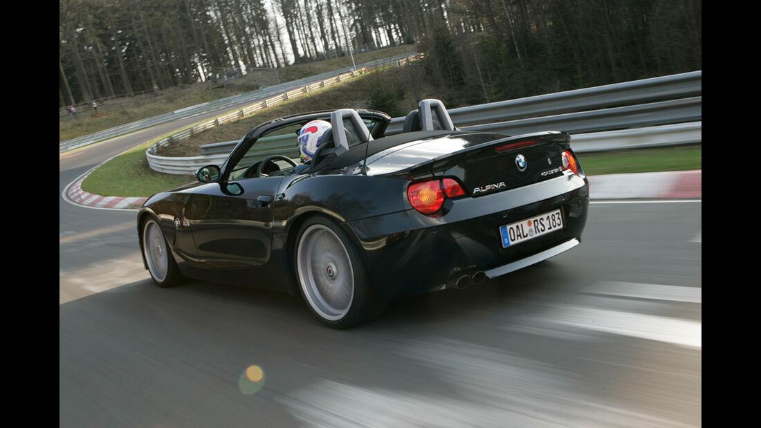 sport auto-Exotendeals bis 45.000 Euro, Gebrauchtwagen-Spezial, 04/2016, Alpina Roadster S