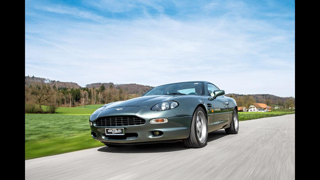 sport auto-Exotendeals bis 60.000 Euro, Gebrauchtwagen-Spezial, 04/2016, Aston Martin DB7 V6