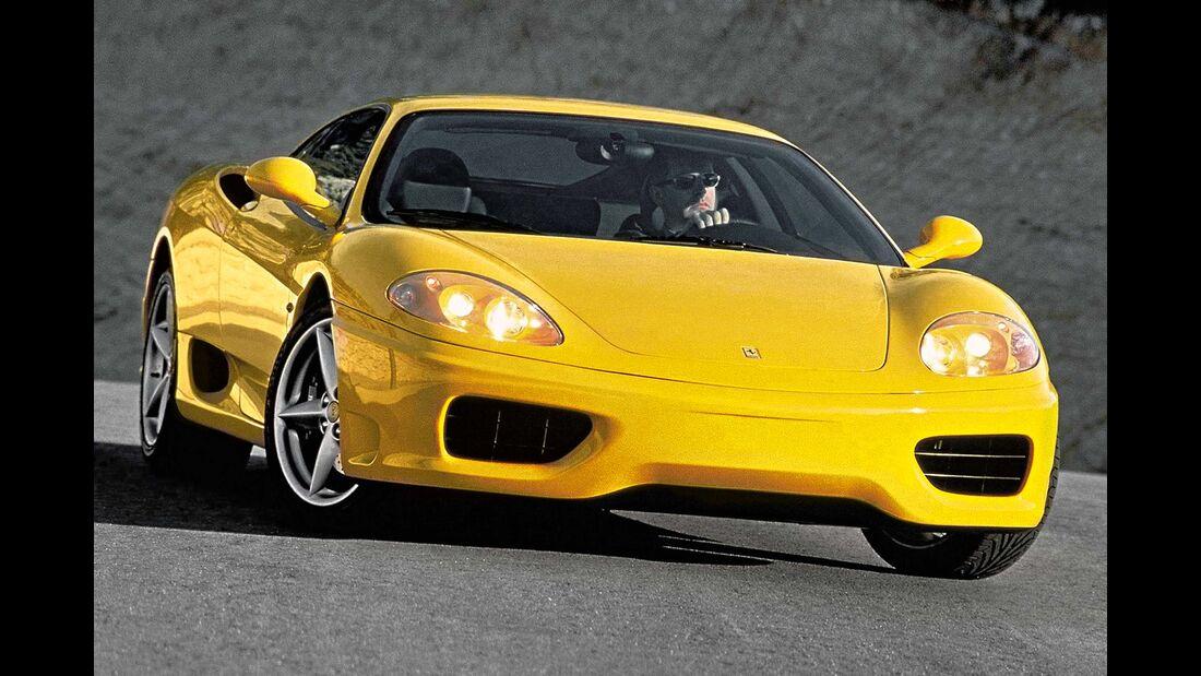 sport auto-Exotendeals bis 60.000 Euro, Gebrauchtwagen-Spezial, 04/2016, Ferrari 360 Modena