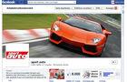 sport auto Facebook-Fan-Seite 2012