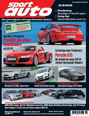 sport auto Heft 3/2009