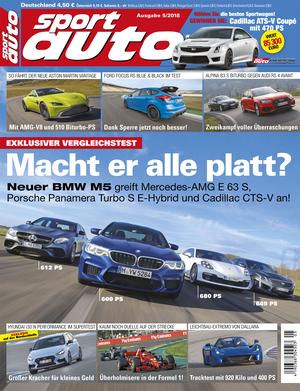 sport auto - Heft 5/2018 - Cover - Titel