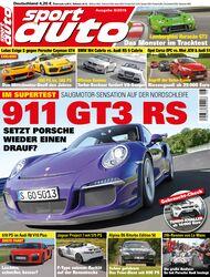 sport auto Heft 8/2015