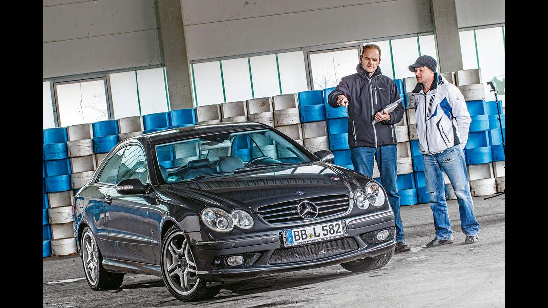 sport auto - Heftvorschau - Mercedes CLK 55 AMG