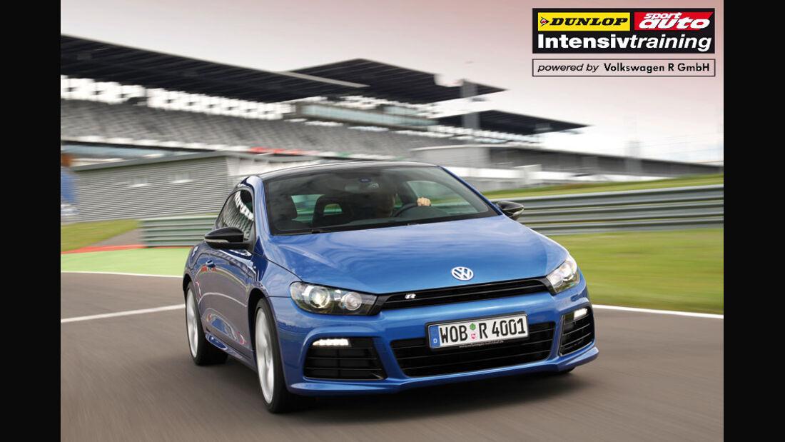 sport auto-Intensivtraining Nordschleife Dunlop VW Golf R