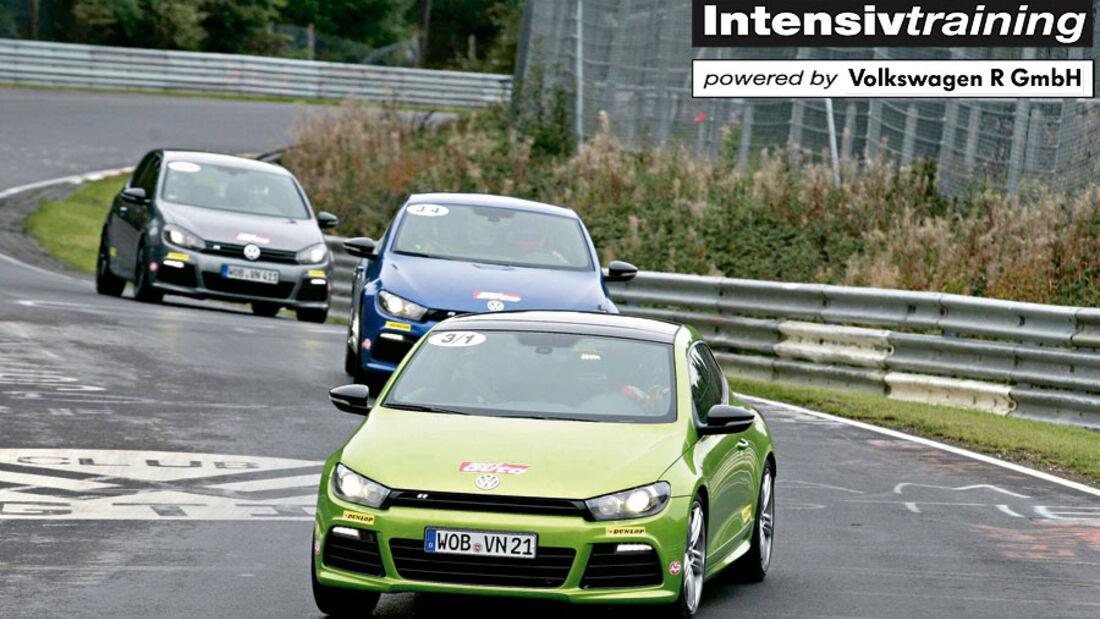 sport auto-Intensivtraining Nordschleife Dunlop VW R-Modell