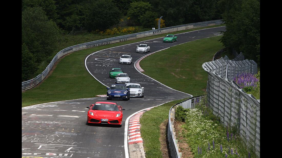sport auto Perfektionstraining Nürburgring Nordschleife Juni 2038