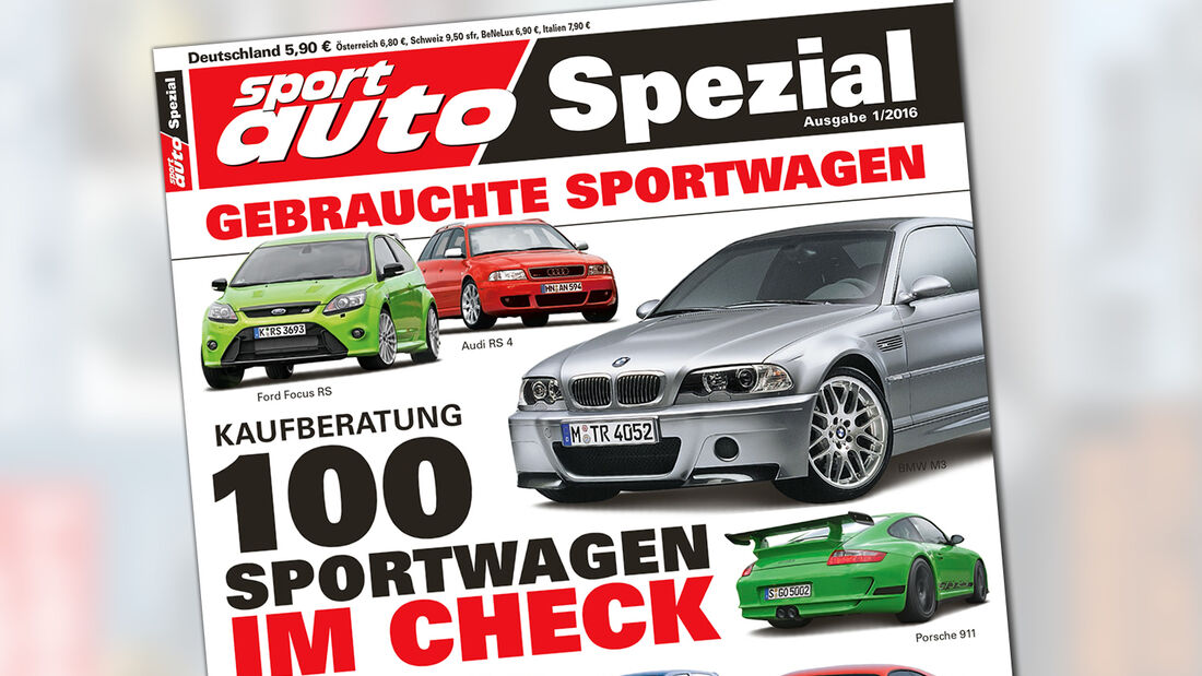 sport auto-Sonderheft - Spezial - Gebrauchte Sportwagen - 01/2016