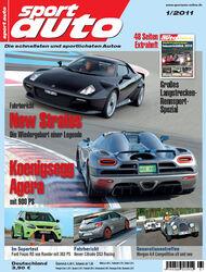 sport auto-Zeitschrift 01-2011