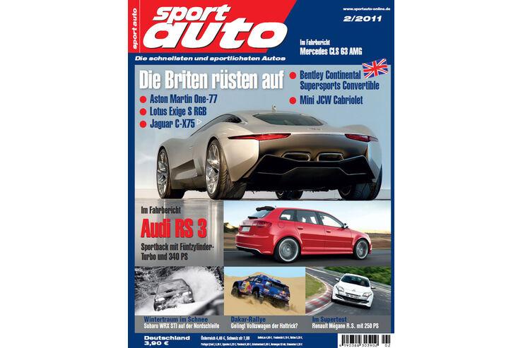 sport auto-Zeitschrift 02-2011