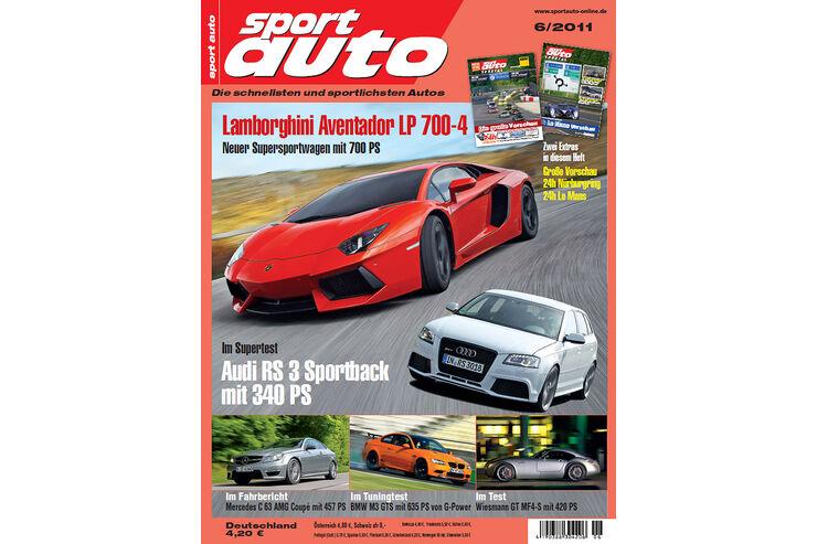 neues heft sport auto 06 2011 runde sache beim test und 24h rennen auto motor und sport. Black Bedroom Furniture Sets. Home Design Ideas