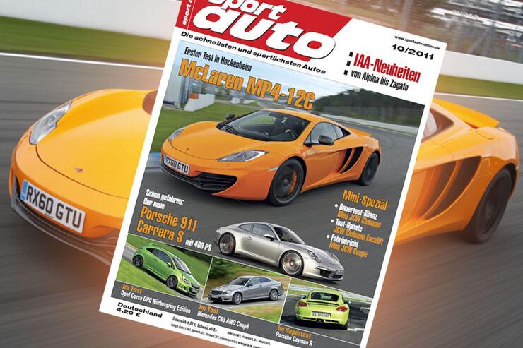 sport auto-Zeitschrift 10-2011