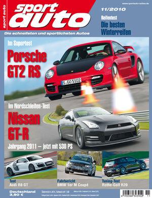 sport auto-Zeitschrift 11-2010
