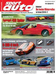 sport auto-Zeitschrift 11-2011