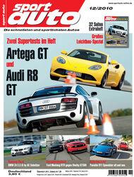 sport auto-Zeitschrift 12-2010